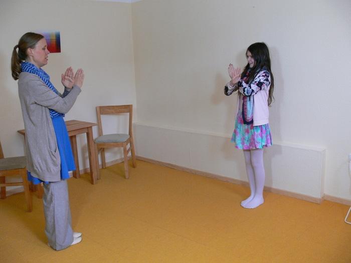 Heileurythmie mit Kindern
